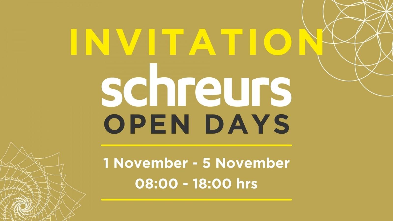 Visit our Open Days!