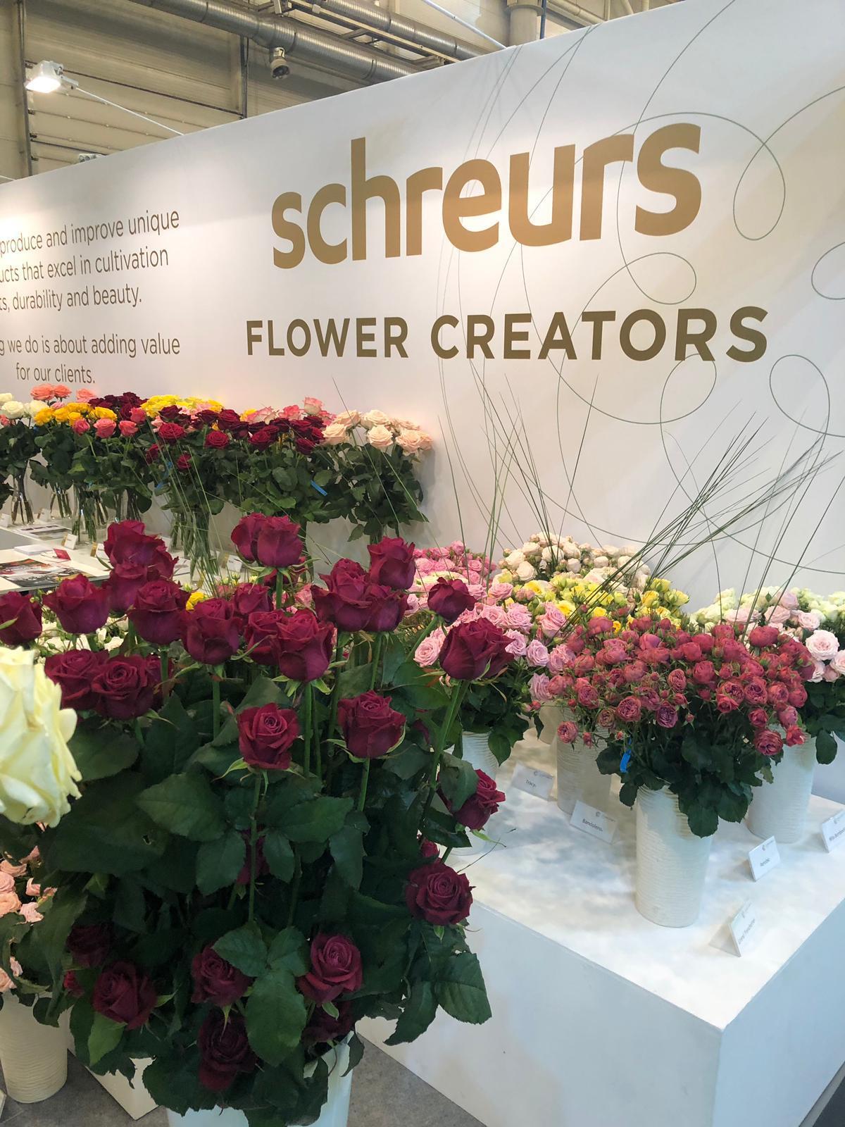 Schreurs at Flowerexpo Kyiv