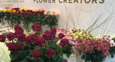Schreurs at Flowerexpo Kyiv
